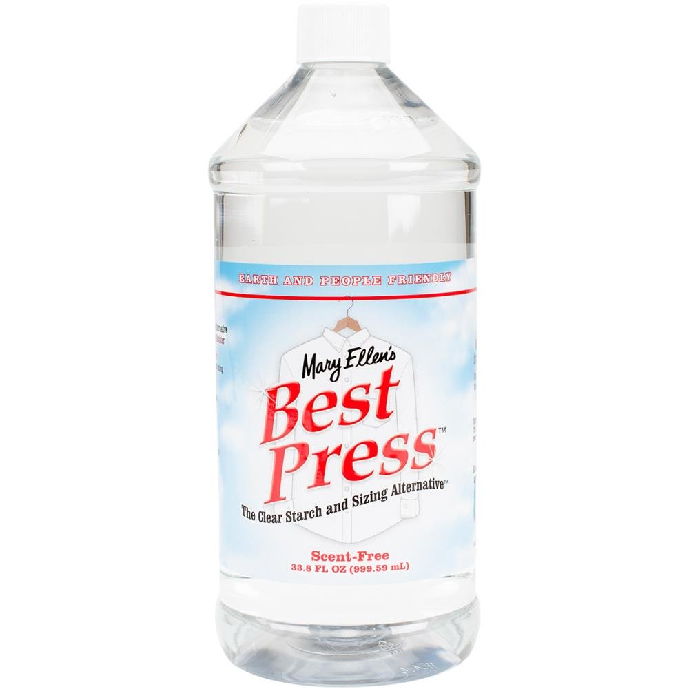 Mary Ellen's Best Press Clear Starch Alternative 33.8 Ounces Scent Free