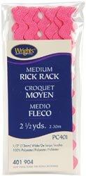 Wrights Medium Rick Rack 1/2 inch 4 Yards 401 Purple 64