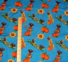 Fabric Cotton Harvest Allover Debra Bryan Sunflower Springs Creative Fabric Quilt