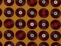 Folk Melody by Michael Korfhage vinyl Music Records 44/45 100% cotton