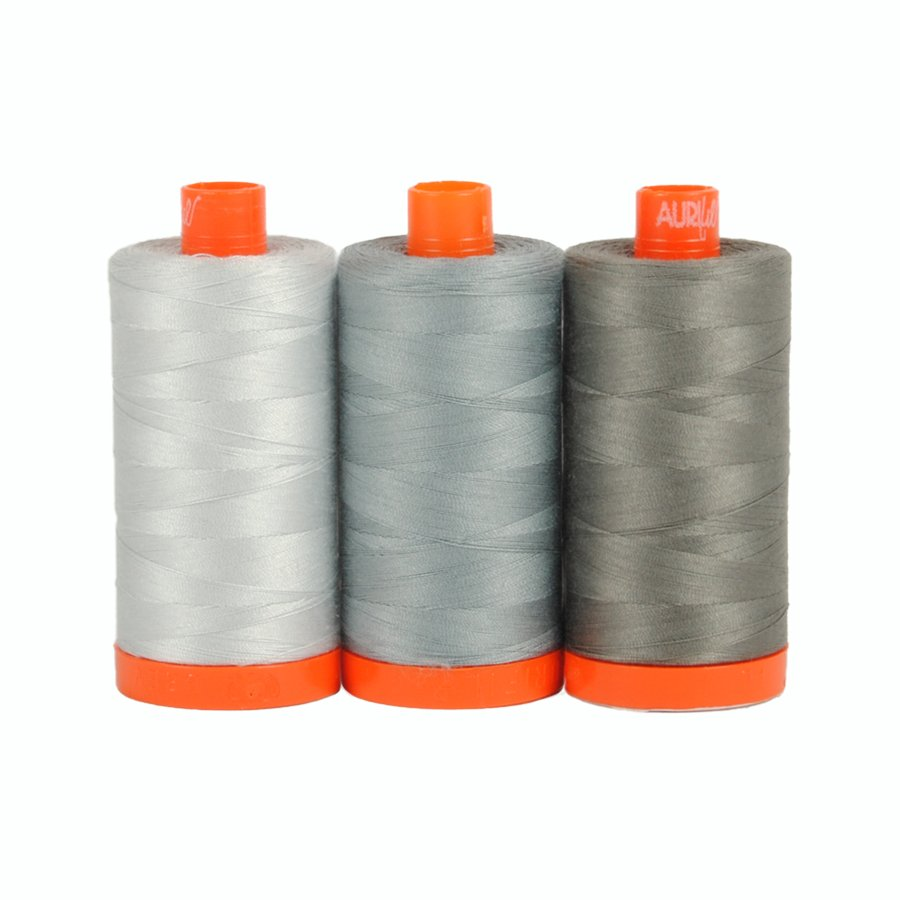 Aurifil Color Builders Milan Grey