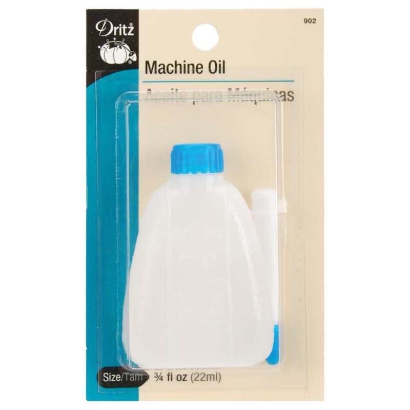 Sewing Machine Oil 3/4oz in Bottle with Tip Dritz