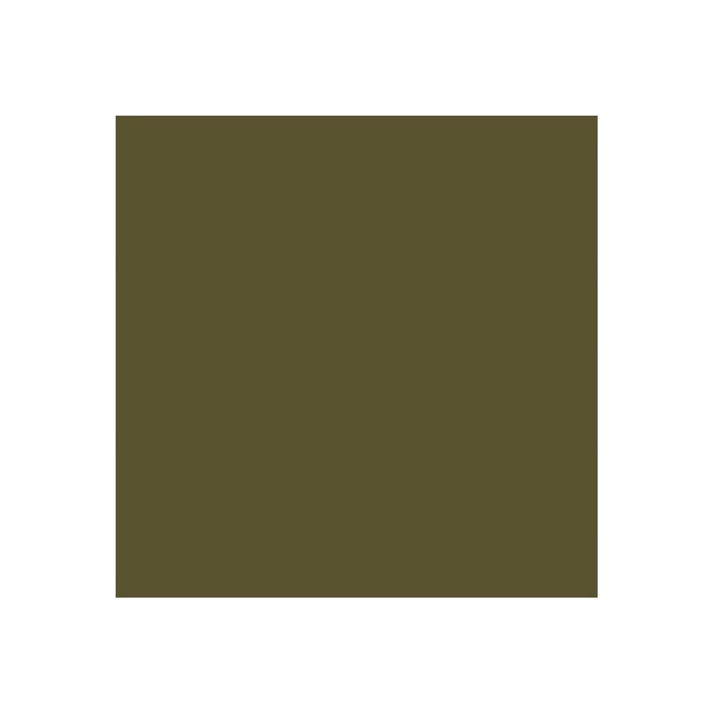 YKK Loose Package Vislon Zipper 25'' #5 Molded Plastic Sport Zipper ~ 2-way Separating Olive