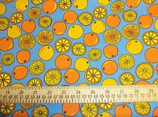 Tutti Frutti Oranges by Choice Fabrics