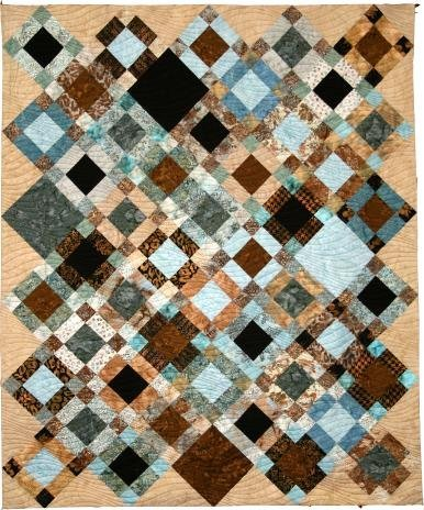 Pandora - easy pieced quilt PATTERN for 2.5 strips - Whirligig