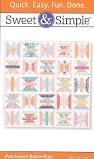 Pattern Martingale Sweet & Simple Patchwork Butterflies