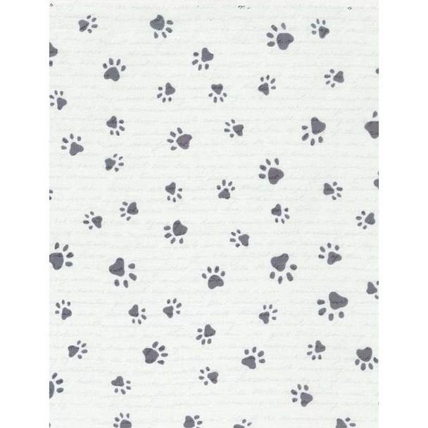 Paw Prints with Words Stone Evie-6281 44/45 100% Cotton Timeless Treasures - copy