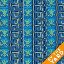 Fabric 100% Cotton A-7621-MKB Pineapple Fabrics
