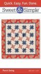 Sweet & Simple Porch Swing Quilt Pattern S100