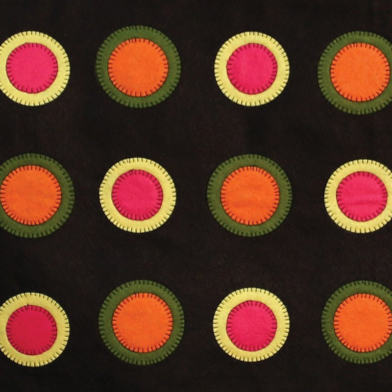 Accuquilt GO! Cutting Die Geometric Circle 1 1/2, 1 3/4, 2 1/4, 2 1/2 55155