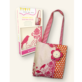 See Me Sew Designer Fabric Tote Bag DIY Kit by My Mind's EYE