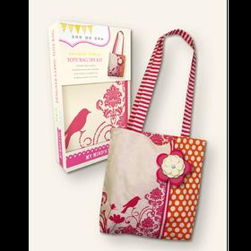 See Me Sew Designer Fabric Tote Bag DIY Kit by My Mind's EYE