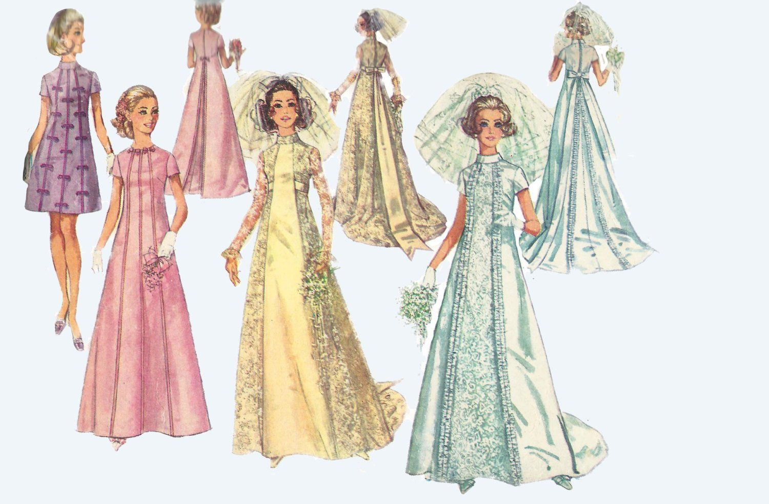 Pattern Fashion SIMPLICITY PATTERN#7018  6 MADE EASY ROBES & BED JACKET-UNCUT