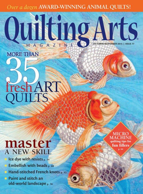 Magazine Quilting Arts Magazine Issue 77 October/November 2015