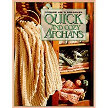 Leisure arts Presents Quick And Cody Afghans