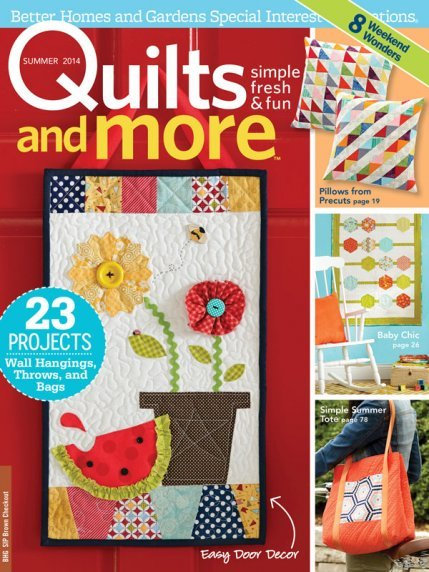 Magazine Better Homes And Gardens Specialty Publication Quilts And More Quilt Magazine Issue 42