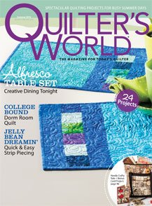 Magazine Quilter's World: The Magazine for Today's Quilter Summer 2014 Volume 36 Issue 2