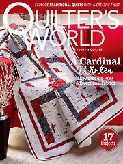 Quilter's World The Magazine For Today's Quilter Volume 37 Issue 4 Winter 2015