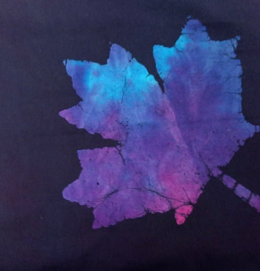 Batik Falling Leaves Batiks R45  7647  0135 Marcus Fabrics 44/45 100% Cotton