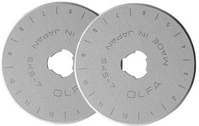 Olfa RB45-2 Rotary Blade 45MM Refill 2 Pack