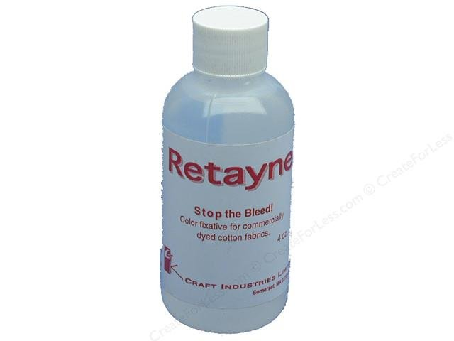 Retayne Color Fixative Solution 4 Ounce