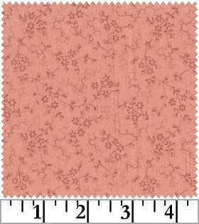 Odessa Small Floral tonal for RJR by Yuko Hasegawa Fabric Cotton