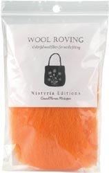 Wool Roving 12 INCH LONG .22 Ounce Moss