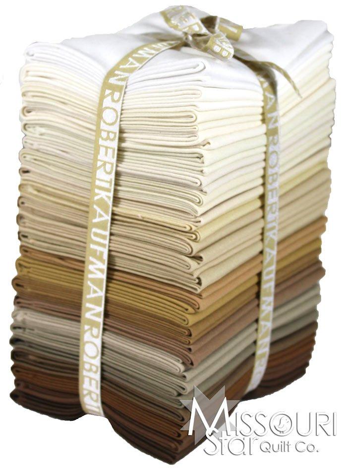 Fabric Cotton Sand Dunes 23 Fat Quarter Cuts by Robert Kaufman