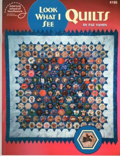 LOOK WHAT I SEE - AN I SPY QUILT!