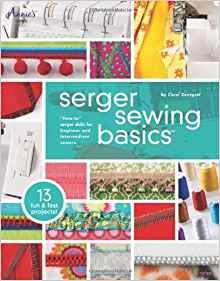 Annie's Sewing Serger sewing basics