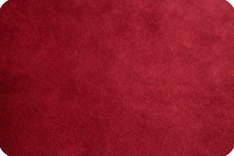 Cuddle Solid Crimson 58/60 Shannon Fabrics Minky
