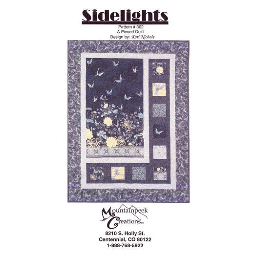 Sidelights Quilt Pattern Mountainpeek Creations #302