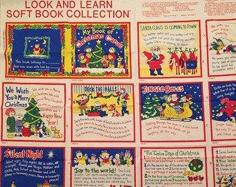 Soft Book Panel 36 44 Christmas Carols