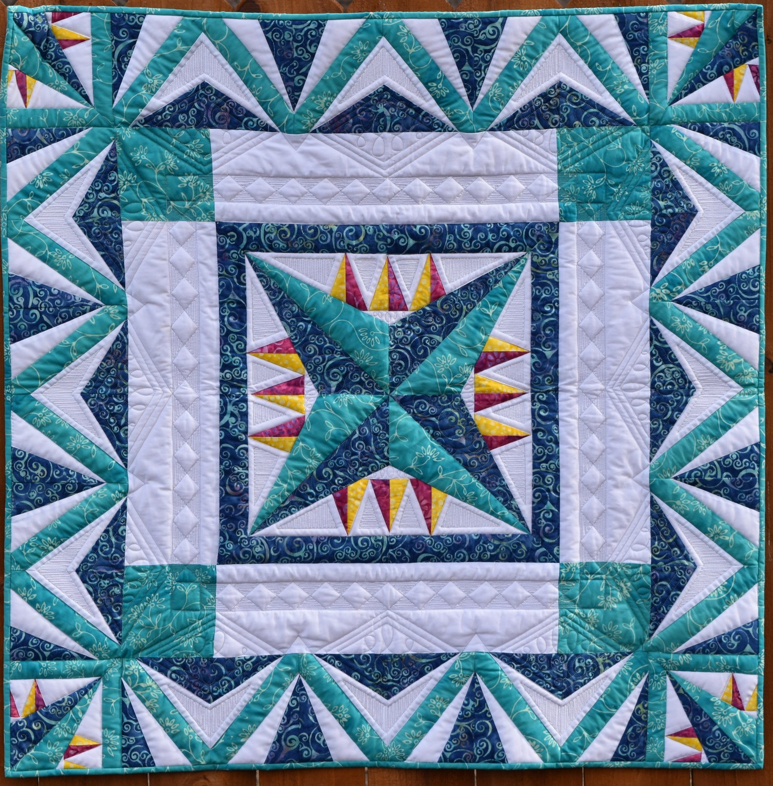 Kit with pattern Star Voyager Beginning Paper Piecing Your color request