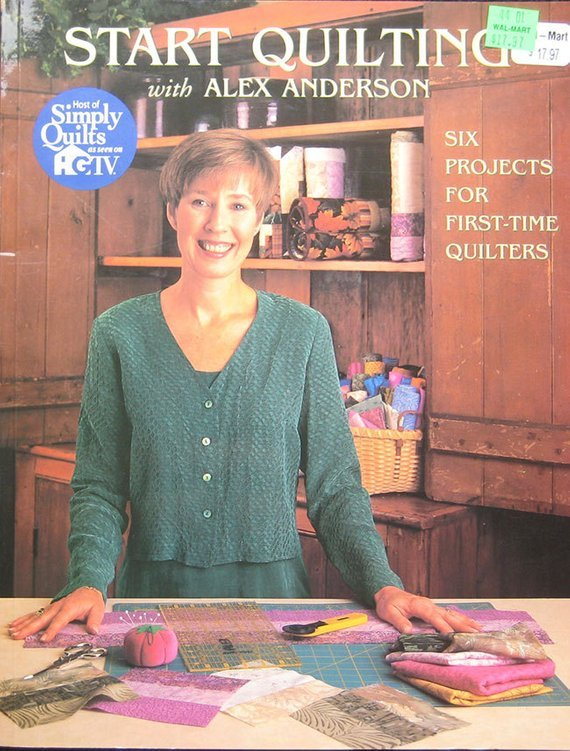 Book Quilting Pattern Book By Alex Anderson
