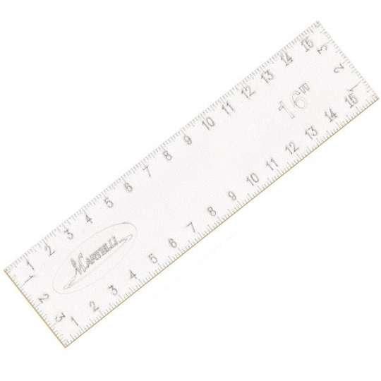 Martelli No Slip Ruler L16 x W4