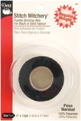 Stitch Witchery Fusible Bonding Web Regular Weight one inch x 13 yd