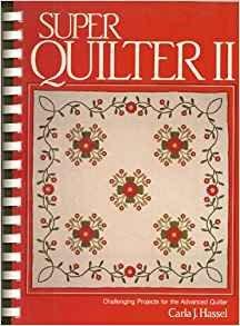 Book  Super Quilter II Plastic Comb – 1982