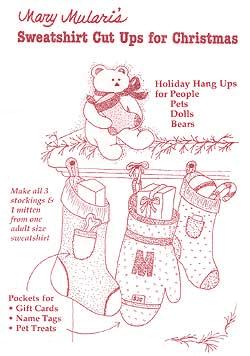 Sweatshirt Cut Ups for Christmas by Mary Mulari MP21