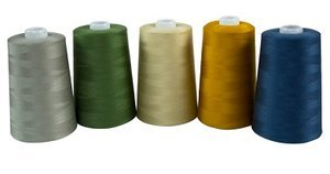 Superior Threads Tailor Made 27 Spun Polyester Thread - gray