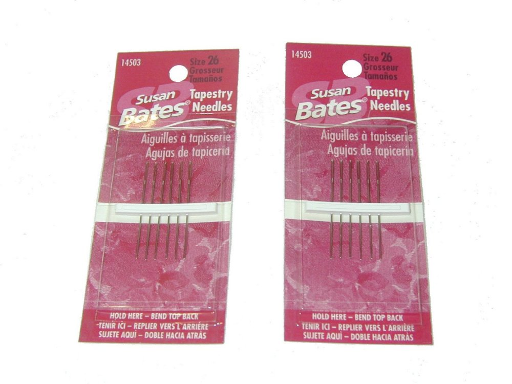 Susan Bates Tapestry Needles Size 22 Six per pack