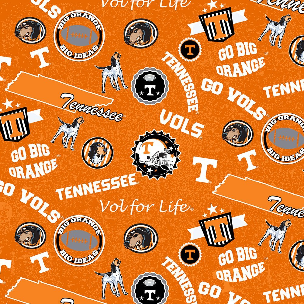 NCAA-Tennessee Volunteers Home State Cotton