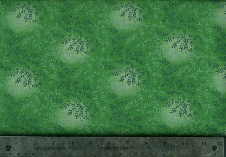 Fabric Cotton Tonal Vineyard #611 Green Tonal 100% COTTON 45'''