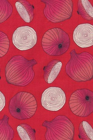 Lush Harvest Collection Troy Riverwoods Onions on red1643-1