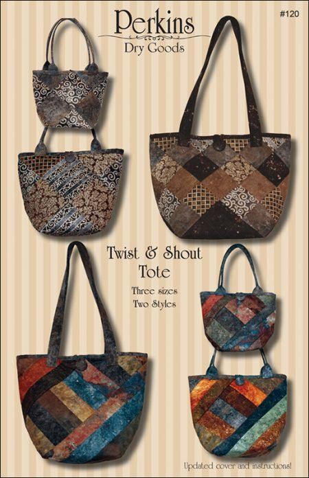Pattern Perkins Dry Goods Twist and Shout Tote