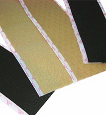 VELCRO(R) brand STICKY BACK(R) Squares 7/8 inch 8/Pkg Light Duty Hold it Desert Tan