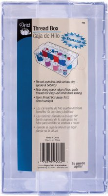 Stackable Thread Box 8X4.5X3.5