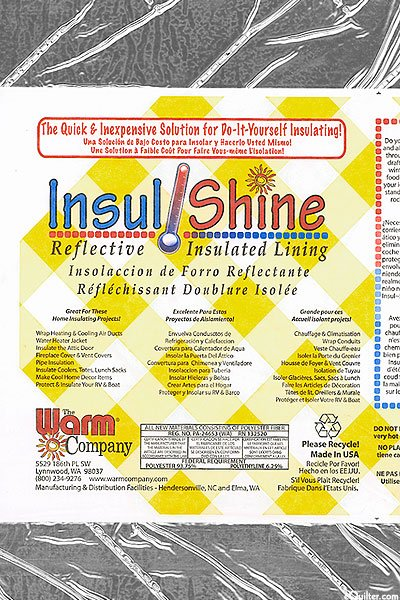 The Warm Company Insul-Shine Reflective Insulated Lining by the yard