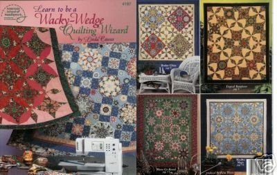 Booklet American School Of Needlework: Learn to be a Wacky-Wedge Quilting Wizard