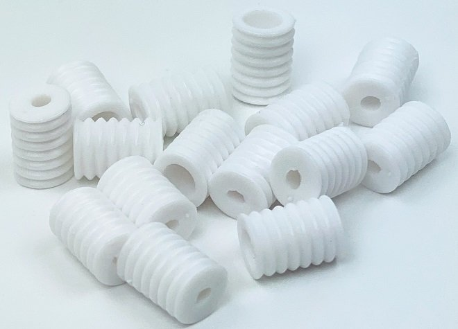 Elastic Adjusters - White Sold by Each